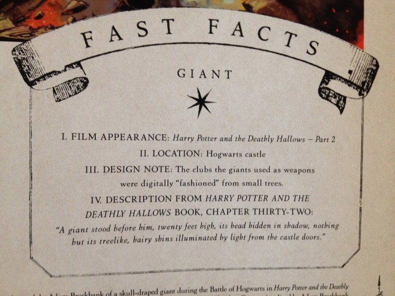 Fast facts Harry Potter the creature vault