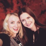 Bonnie Wright e Evanna Lynche al People Con 2015