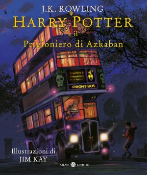 Harry Potter e il Prigioniero di Azkaban, illustrazioni di Jim Kim